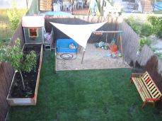 Jardín en Villanubla recién terminado